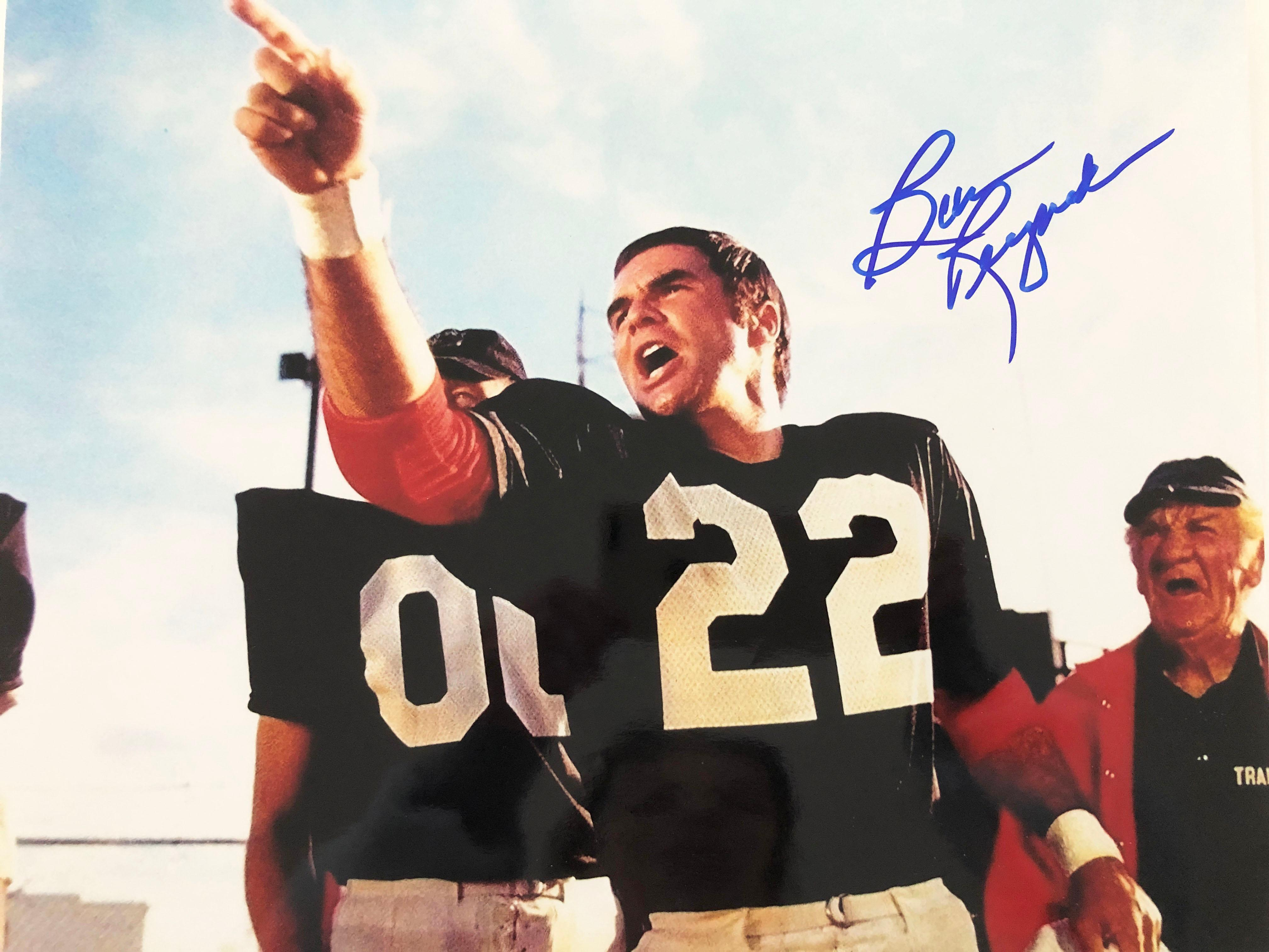 The Longest Yard Burt Reynolds signed movie photo