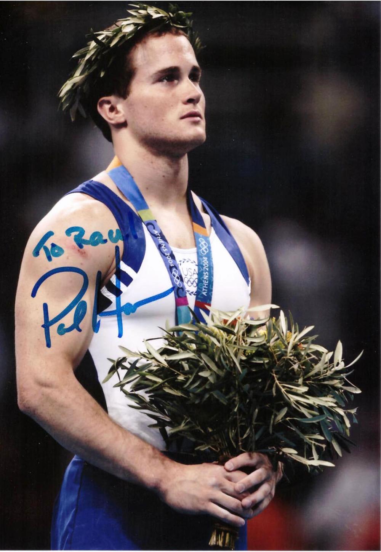 Paul Hamm signed photo