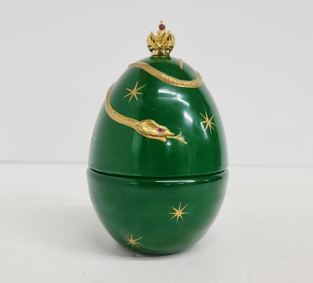 Theo Fabergé Devils Egg St. Petersburg Collection