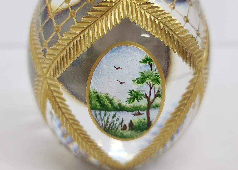Theo Fabergé Four Seasons Egg St. Petersburg Collection