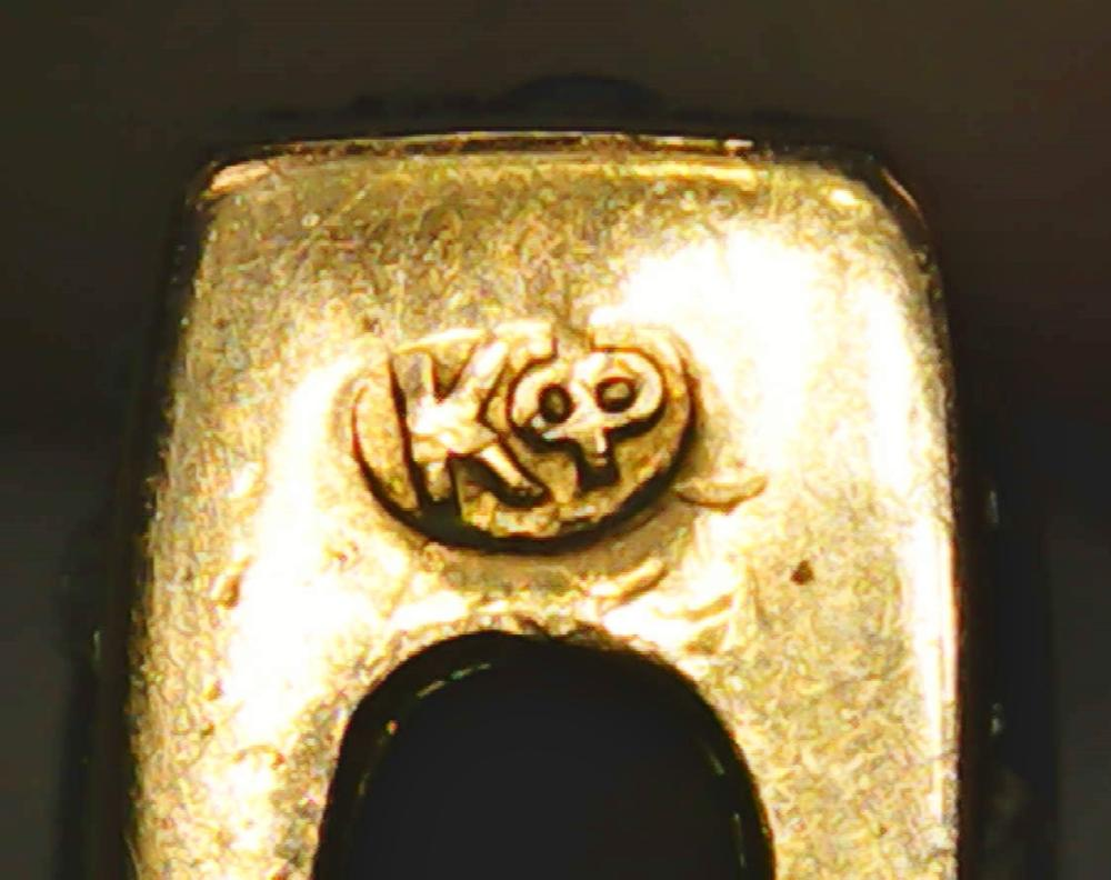 Rare Carl Fabergé Michael Perchin Lapis Lazuli Diamond Russian Toothpick Vesta Fob