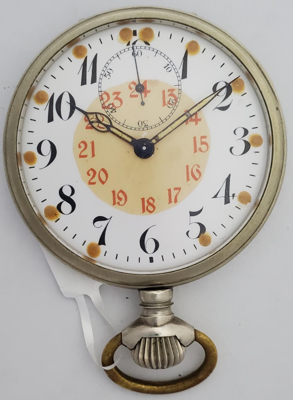 WWI German Airplane Dash Clock Revue