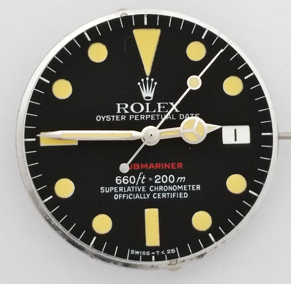 """""""The Great Pumpkin"""" Amazing Rolex Tropical Dial Red Submariner Box Papers Tags Receipt"""
