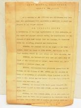 Original Curry Historical Fort Miners Gold Beach Oregon 1856 Charles Brown Saved Mary Christina Geisel from Indians Murder Story Recommendation Letter