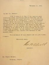 Ben W Olcott Oregon Governor Signed Autographed Letter Klu Klux Klan Reference to Binger Hermann Roseburg Oregon 1922