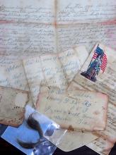 Civil War Soldiers Letters 33rd Regiment Ohio Volunteers Acworth Georgia General  Sherman Expedition Bowling Green Camp Andrew Jackson Original Robert Wartenbe Union Correspondence 1862 1864