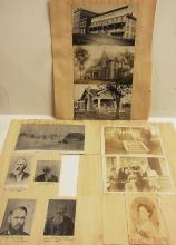 Coos County Oregon Historical Myrtle Point Hotel Coquille River Victorian Houses Homestead Original Photographs Pioneer and Newspaper Clippings from the Civil War Era Collected by Binger Hermann