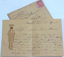 Pauline Lucca Vienna Austria Soprano Singer State Opera Letter to Franz Paul Berlin Opernhaus Germany Rare Autograph Signed Note