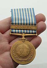 United Nations Korea Campaign Medal Military Decoration Pin Korean War