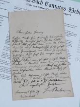 Hans von Bulow Virtuoso Composer Conducter Berlin Autograph Signed Germany Hand Written 1879 Letter