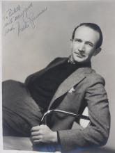 Rare Signed Young Walter Brennan 1930s Photo Autographed Image to Estelle