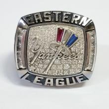 2013 Yankees Trenton Thunder AA Ring Eastern Baseball Team Championship Genuine Authentic not Repro