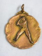1926 Flatbush Brooklyn Baseball Pendant Commercial Field Championship New York