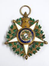 Claes Westring Sweden Consul General Portugese Order of the Tower and Sword Massive WWII Era Portugal Medal to Swedish Foreign Ministry Secretary
