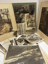 Paul Laura Haasis Chattanooga Tennessee Landscape Bluff View Art District Collection of Large 1950s Scenic Mountain Waterfall Images Vintage Award Winning Photographs Photographic Society of America