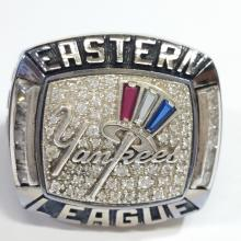 2013 Tampa Yankees Eastern Minor League Baseball Team Championship Ring Genuine Authentic not Repro