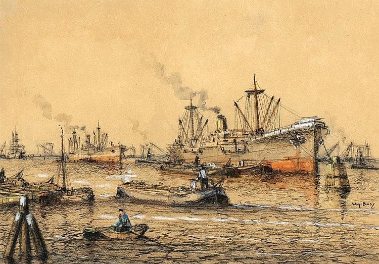 Willem BOS (geb. Rotterdam 1906 - overl. Rotterdam