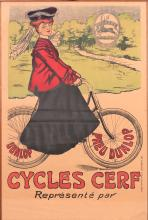 Cycles Cerf Poster, unknown artist