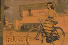 Rudge Bicycle poster, unknown artist