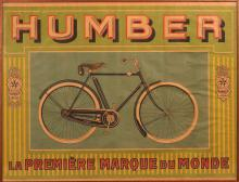 Humber poster, unknown artist