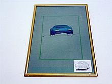 Ferrari 365 BB Original Pininfarina Coachwork Drawing