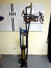 A Skeleton Hand-Cranked Petrol Pump, 1920**
