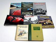 Eight Motor Racing Books