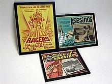 Three Original Movie 'Lobby Card' Posters