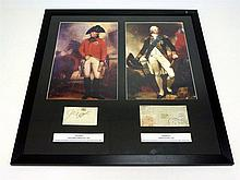 King George III and King William IV Signed Presentation