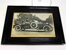 An Extremely Early Rolls-Royce Press Photograph