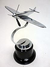 Spitfire Aircraft Accessory Mascot