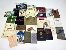 Quantity of Motorcycle Sales Brochures