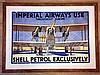 A Rare Shell Petrol Advertising Poster, William Dacres Adams, £600