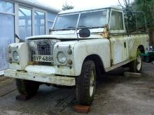 1972 Land Rover 109 Series IIA