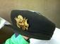 WWII (?) WAC Uniform Hat Size 22 1/2 w/ Badge( unreadable tag)