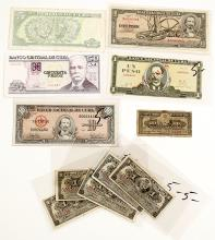 Cuban Currency Collection