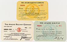 Apache Railway Annual Passes (Arizona Paper Mill Short-Line)