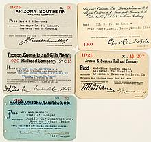 Arizona Railroad Pass Collection 2