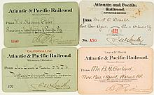 Atlantic & Pacific Railroad (Western Division) Pass Collection