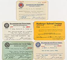 Bamberger Electric Railway Co. Pass Collection