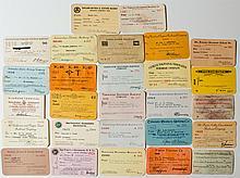 California Railroad Pass Collection (27)