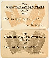 Cheyenne Canon and Seven Falls Development Co. Pictorial Pass Duo
