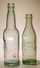 Pair of Hawaii Soda Bottles