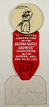 Arizona Cattle Growers' Assoc. Button