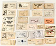 Business Card Collection: Including Chinese