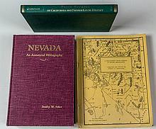 Three Nevada Bibliographies
