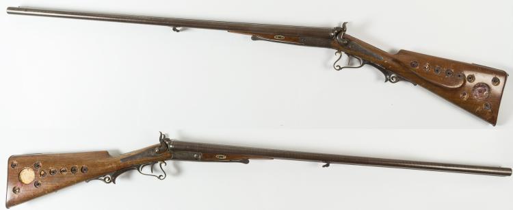 e th steinecke german hammer under lever engraved shotgun. Black Bedroom Furniture Sets. Home Design Ideas