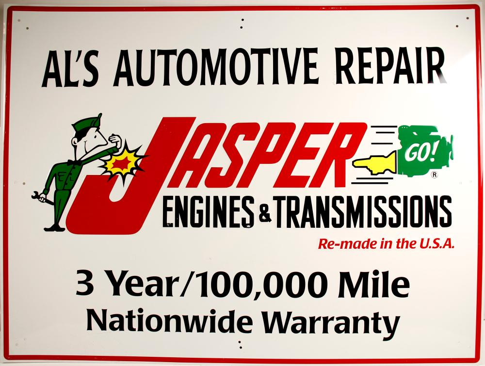 Jasper Engine Co  Sign