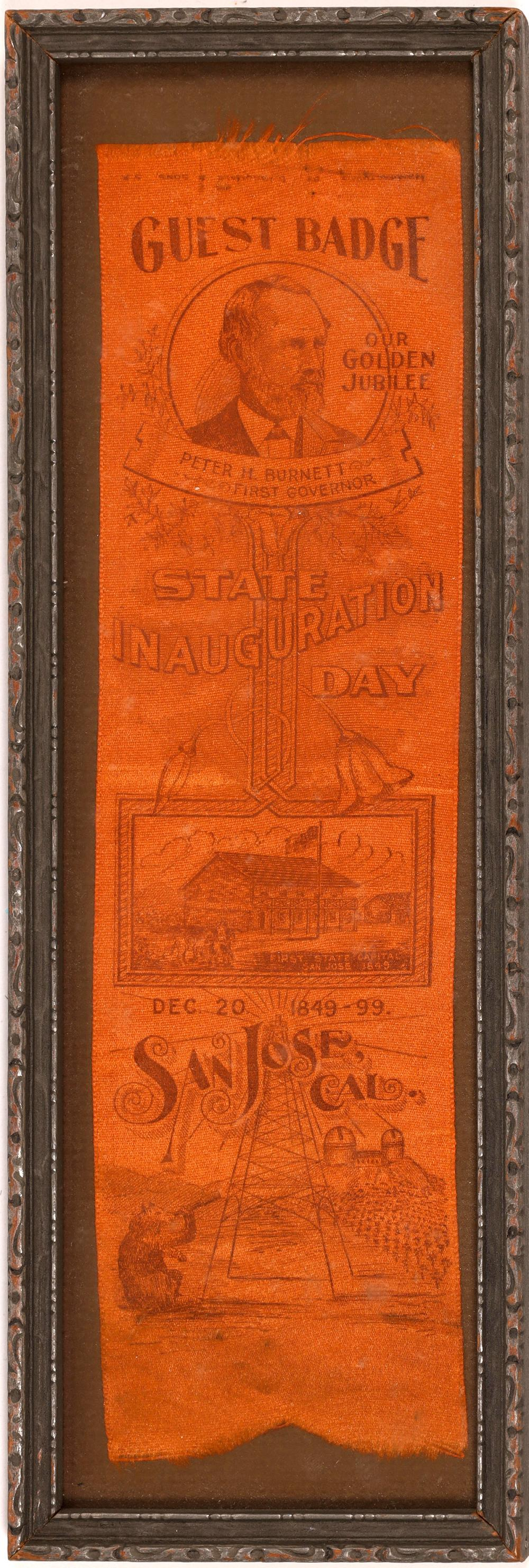 State Inauguration Day Golden Jubilee Guest Badge [138554]