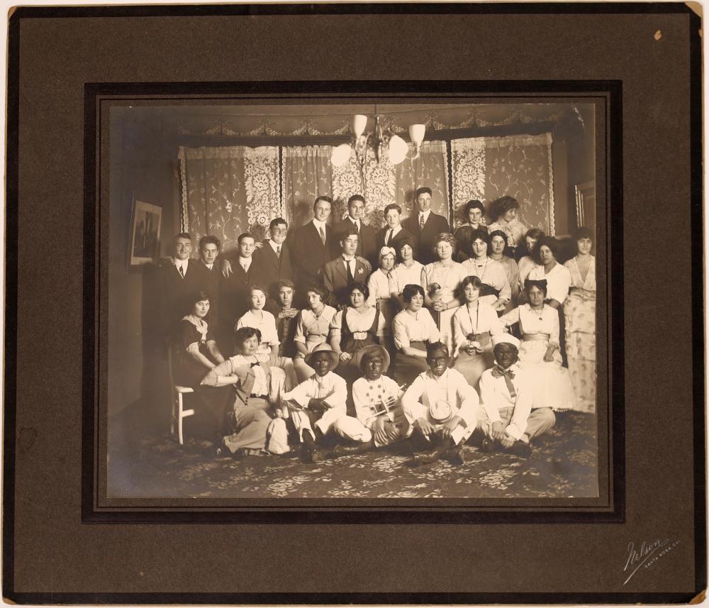Portrait of the 1916 Sophomore Class of Santa Rosa High School [137881]